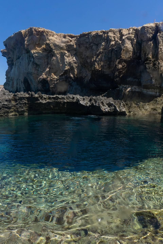 Blue Hole Gozo Entry
