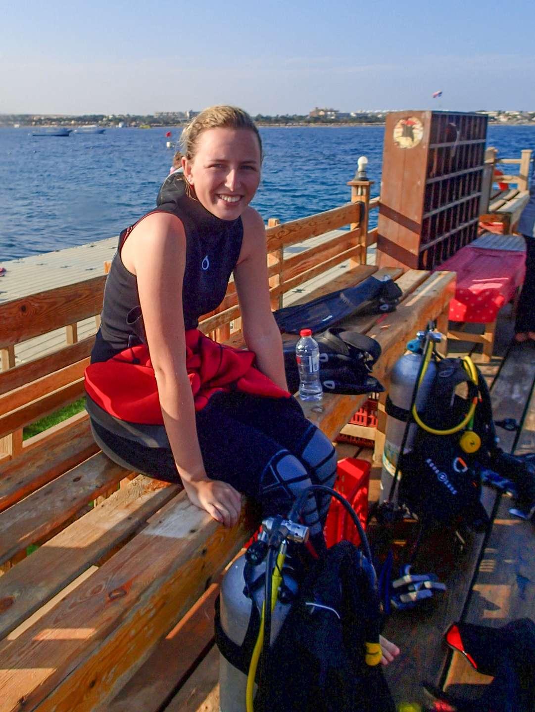 Tami at Extra Divers Makadi Bay