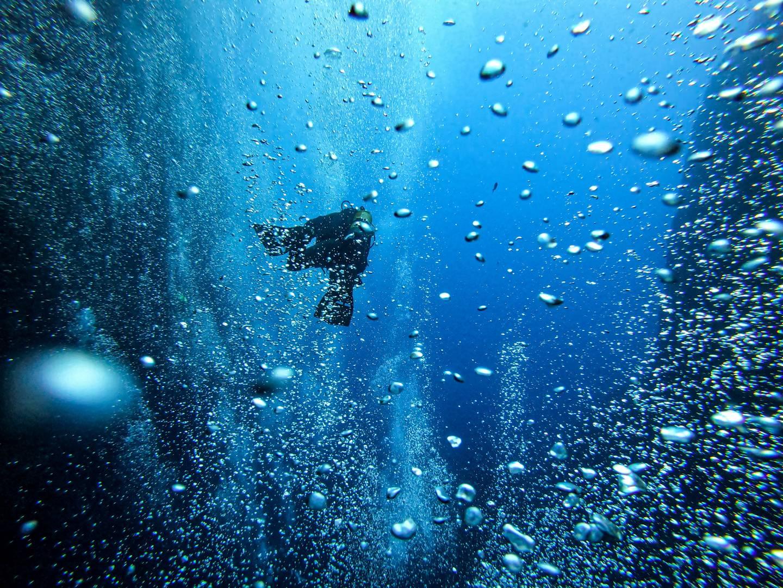 Bubbles in the Inland Sea Gozo