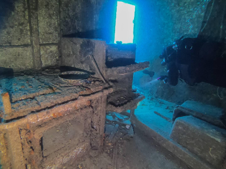 Inside Um El Faroud Kitchen