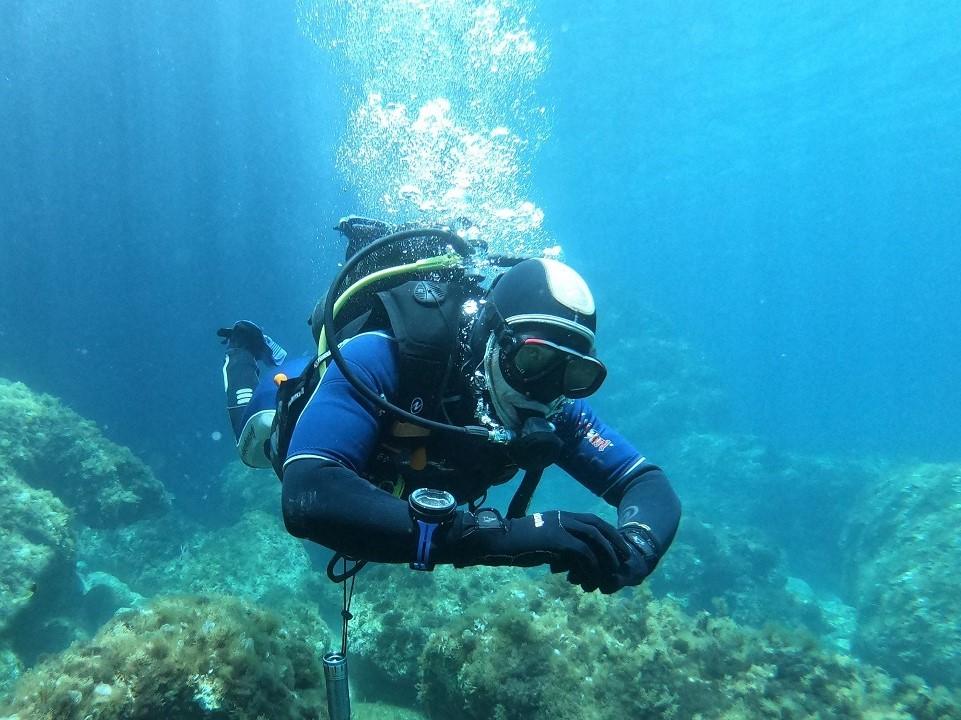 Chris Open Water Diver Course