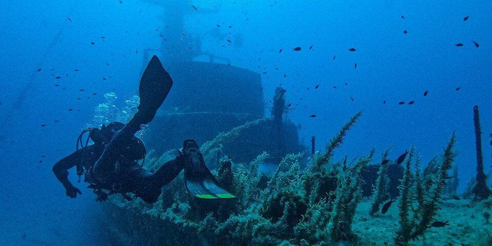 Best Dive Site Malta: P29 Wreck