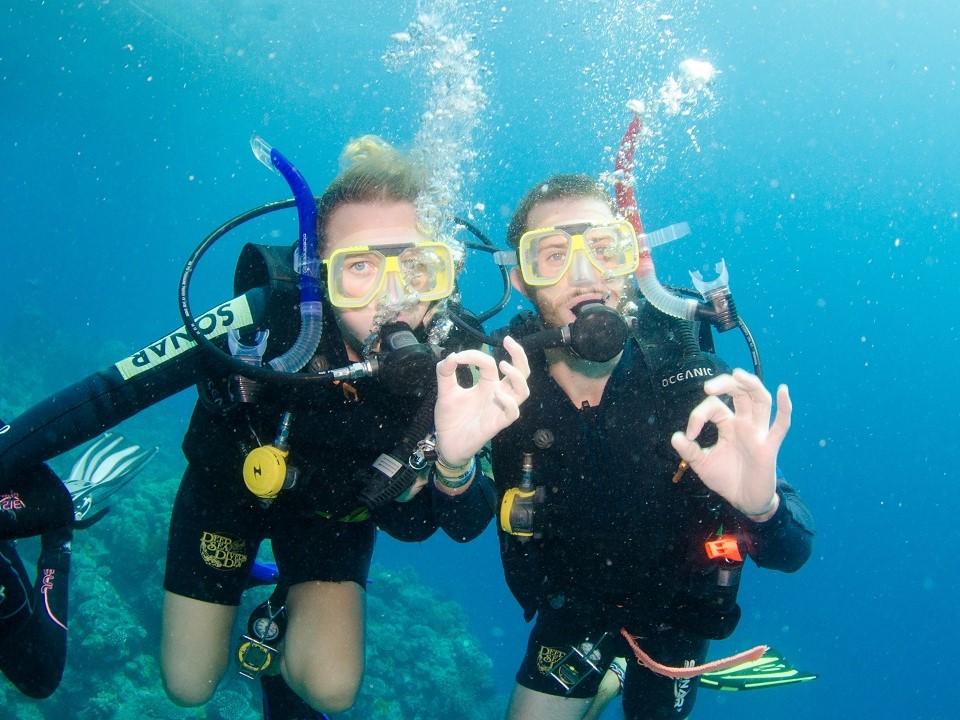 First Time Scuba Diving in Australia